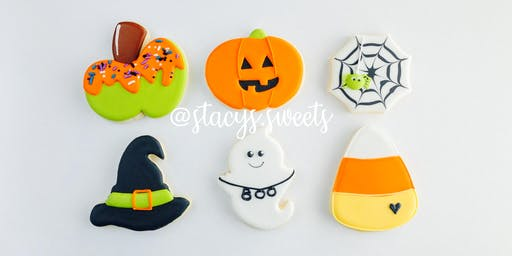 Halloween Beginner Cookie Decorating Class