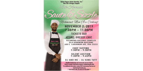 13th Annual Sauté & Sizzle: Richmond Men Are Cooking tickets