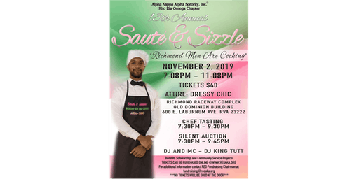 13th Annual Sauté & Sizzle: Richmond Men Are Cooking