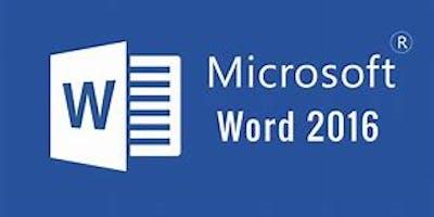 Microsoft Excel 2016 Intermediate Workshop