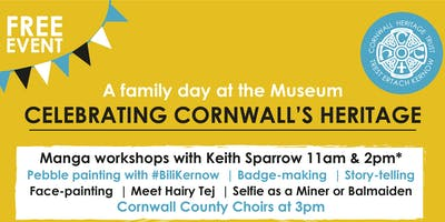 Celebrating Cornwall's Heritage - Manga Workshop with Keith Sparrow