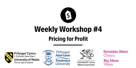 Pricing for Profit: Weekly Workshop #4 tickets