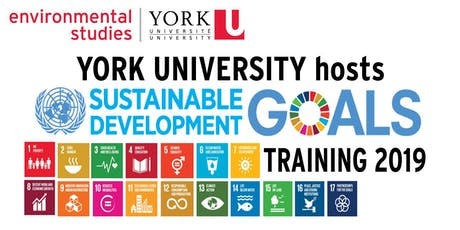 United Nations' Sustainable Development Goals Training at York University tickets