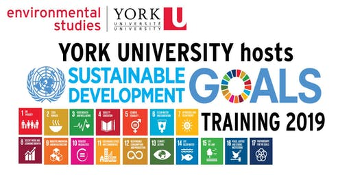 United Nations' Sustainable Development Goals Training at York University