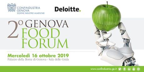 2° Genova Food Forum biglietti