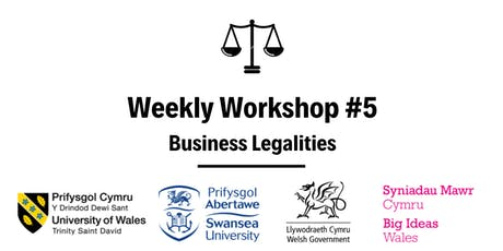 Business Legalities: Weekly Workshop #5 tickets