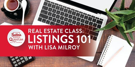 "Class: ""Listings 101"" with Lisa Milroy tickets"