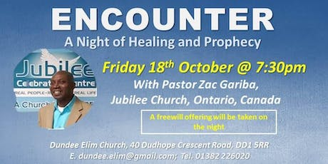 Encounter Night with Pastor Zac Gariba tickets