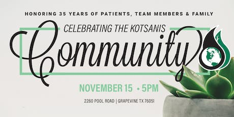 Kotsanis Institute Open House tickets