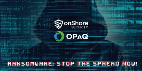 Ransomware: Stop the Spread Now! Brunch and Learn at The Florentine tickets