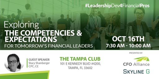 Exploring The Competencies & Expectations for Tomorrow's Financial Leaders