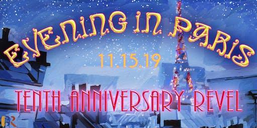EVENING IN PARIS: 10th Anniversary Revel