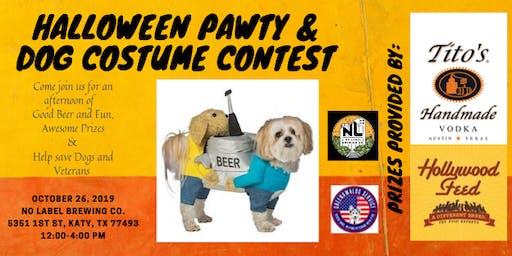 Halloween Pawty & Dog Costume Contest
