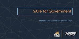 SAFe for Government with SGP Certification - Sacramento