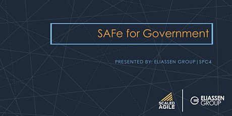 SAFe for Government with SGP Certification - Bethesda - February tickets