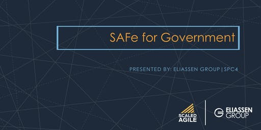 SAFe for Government with SGP Certification - Sacramento