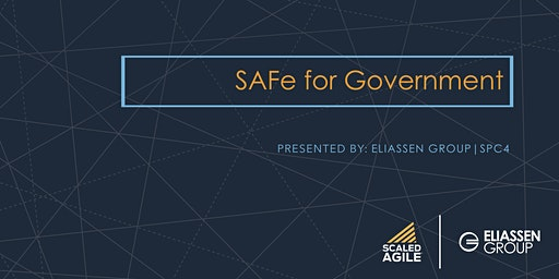 SAFe for Government with SGP Certification - Dallas - March