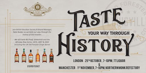 Old Forester - Taste Through History - London