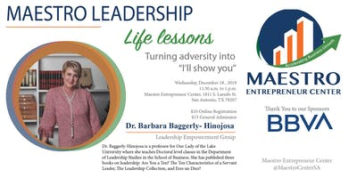 Life Lessons with Dr. Barbara Baggerly-Hinojosa