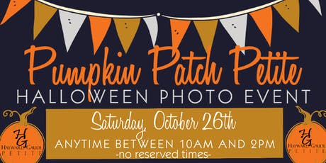 """Pumpkin Patch Petite"" - Halloween photo event tickets"