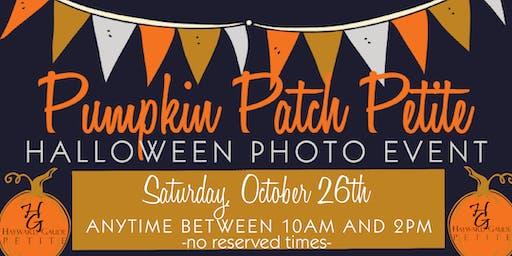 """Pumpkin Patch Petite"" - Halloween photo event"