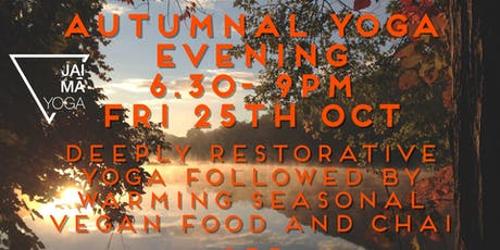 Autumnal Yoga Evening tickets