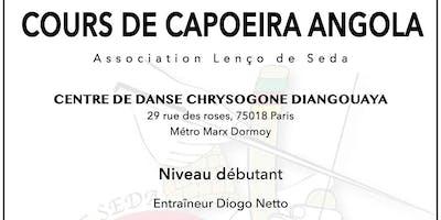 Capoeira Angola - cours d'essai