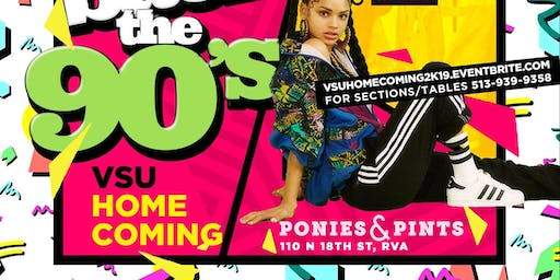 Bring 90s Back VSU & VUU Homecoming Edition