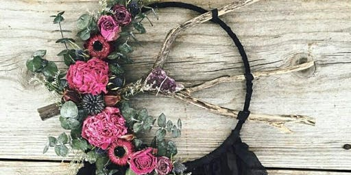 DIY Dreamcatchers + Smudge Stick Bouquet Bar