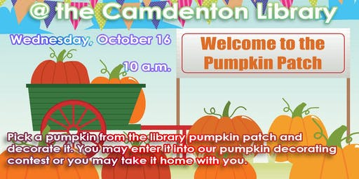 Pumpkin Patch at the Camdenton Library