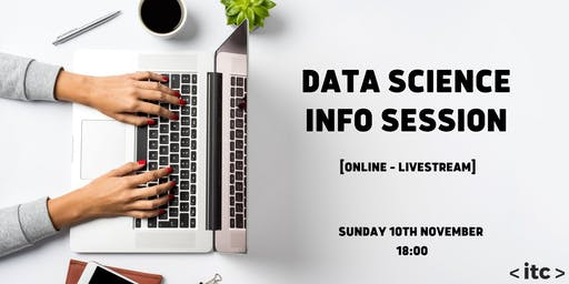 Data Science Info Session (Online)