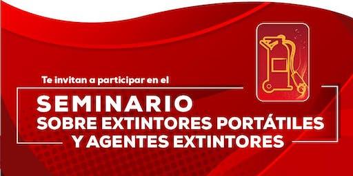 Seminario Extintores Portátiles y Agentes Extintores.