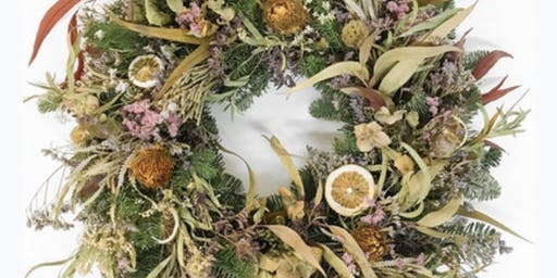 Christmas Wreath Making - spruce up your front door!