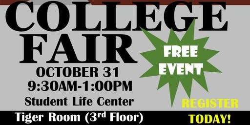 Texas Southern University Student Accessibility Services College Fair