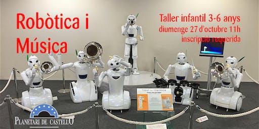 "Taller Infantil Planetari ""Robótica y música"""