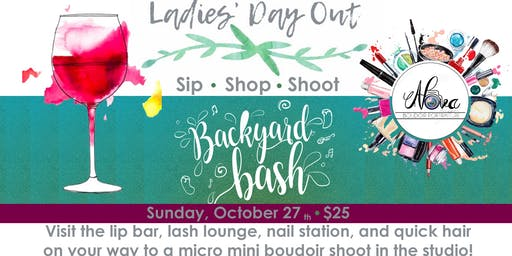 Ladies Day:  Backyard Boudoir Bash