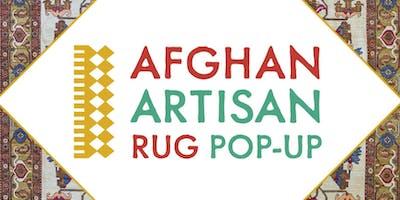 Afghan Artisan Rug Pop-Up