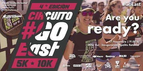 Circuito Go East Gimenez Riili 4° Edición 2019.  4° Fecha Circuitos ALTO RUNNING - Copa SANCOR SEGUROS entradas