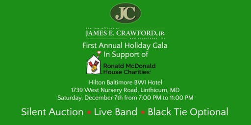The Law Offices of James Crawford First Annual Holiday Gala