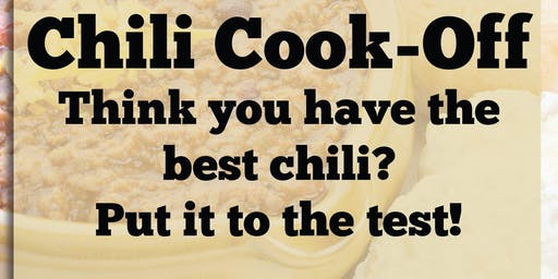 Chili Cook Off & Tasting