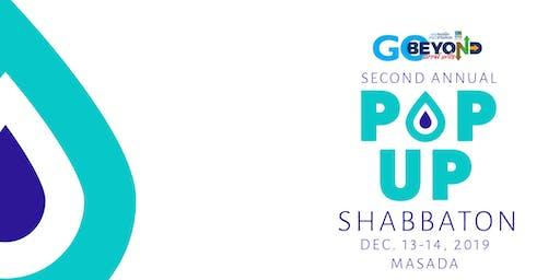 The Pop Up Shabbaton
