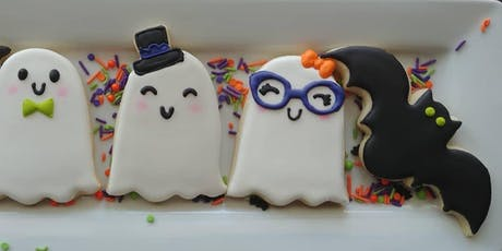 Beginners Halloween cookie class  tickets