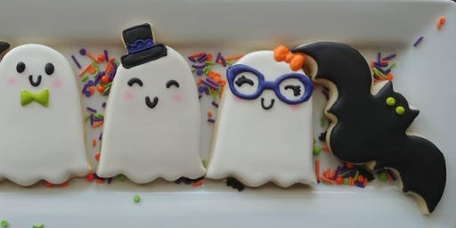 Beginners Halloween cookie class