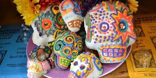 Sugar Skull Decorating at Local Pottery: Wednesday, October 30th