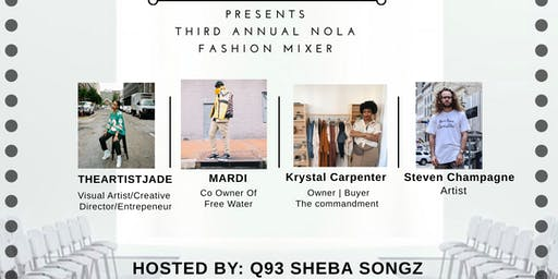 Taylor'd Styling Services 3rd Annual NOLA Fashion Mixer