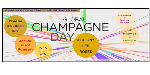 GLOBAL CHAMPAGNE DAY OF CHIGNY LES ROSES