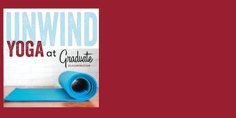 Yoga at Graduate Bloomington tickets
