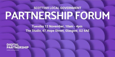 Scottish Local Government Partnership Forum tickets