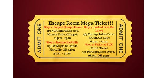 Escape Room Mega Ticket