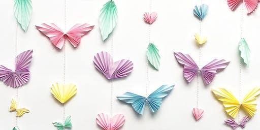Papercraft Wall Hanging Workshop